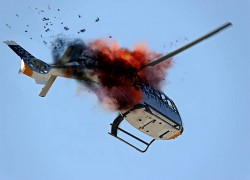 ARMY HELICOPTER CRASHES INTO RANJIT SAGAR DAM IN J&K'S KATHUA