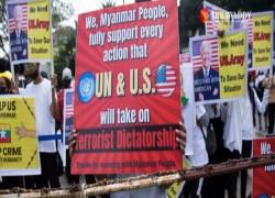 US DISMISSES MYANMAR JUNTA'S ELECTION PLAN