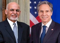 GHANI, BLINKEN CONDEMN TALIBAN ATTACKS, AGREE TO SPEED UP PEACE PROCESS