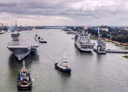India's first indigenous aircraft carrier Vikrant begins sea trial, Navy says 'historic' day