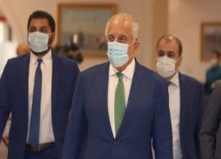 US envoy in Qatar to press Taliban for end to offensive