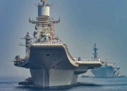 India's first homemade aircraft carrier passes its first big test