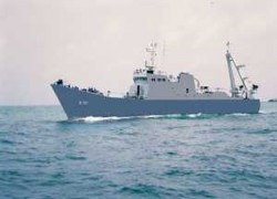 NAVY DETAINS FOREIGN VESSEL WITH LARGE STOCK OF HEROIN
