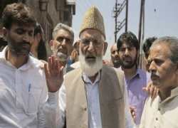 Relatives of late Kashmir separatist leader charged under anti-terror law