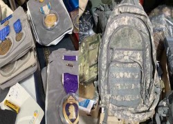 Abandoned items of US soldiers up for sale