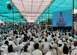 'Will oust divisive BJP': Farmers stand firm at Muzaffarnagar Mahapanchayat