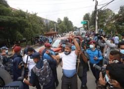 Police arrest dozens for demonstrating against the MCC