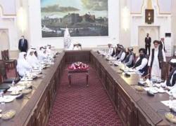 QATAR'S AL-THANI IN KABUL MEETS TALIBAN, AFGHAN POLITICIANS