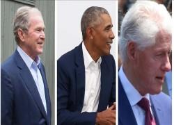 3 EX-US PRESIDENTS UNITE TO HELP AFGHAN REFUGEES