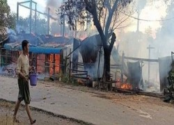 OVER 20 MYANMAR MILITARY SOLDIERS KILLED IN CLASHES