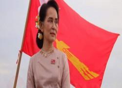 MYANMAR'S SUU KYI DENIES FALSE REPORTS THAT SHE OPPOSES ARMED RESISTANCE TO JUNTA.