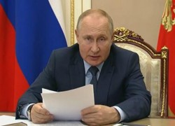 PUTIN WARNS OF EXTREMIST THREATS FROM AFGHANISTAN
