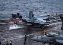 U.S. carrier hosts 12 senior Indian officers at Malabar 'Quad' drill