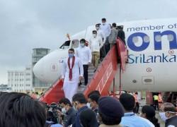 MODI OPENS KUSHINAGAR AIRPORT AFTER ARRIVAL OF FIRST FLIGHT FROM SRI LANKA