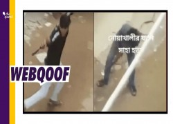 Video shows man killed in Bangladesh during Durga Puja? no, it's an old incident
