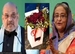 Bangladesh PM Sheikh Hasina Sends 57 roses to greet HM Amit Shah on 57th birthday