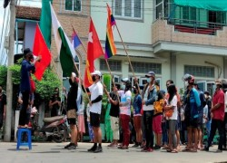 Myanmar decries move to block coup leader from ASEAN summit